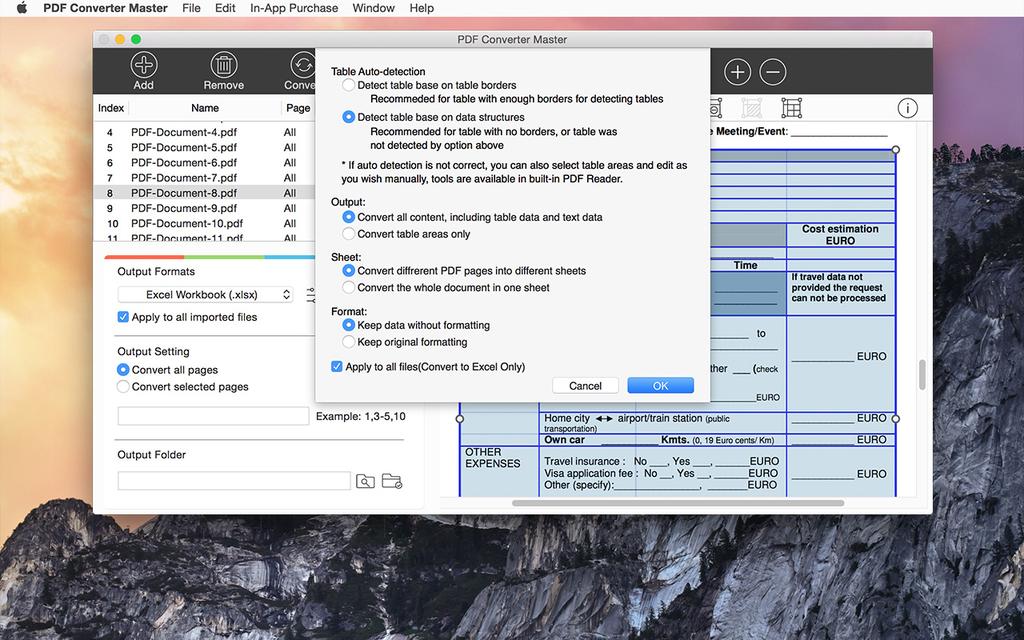 Lighten PDF Converter Master for Mac Screenshot 7