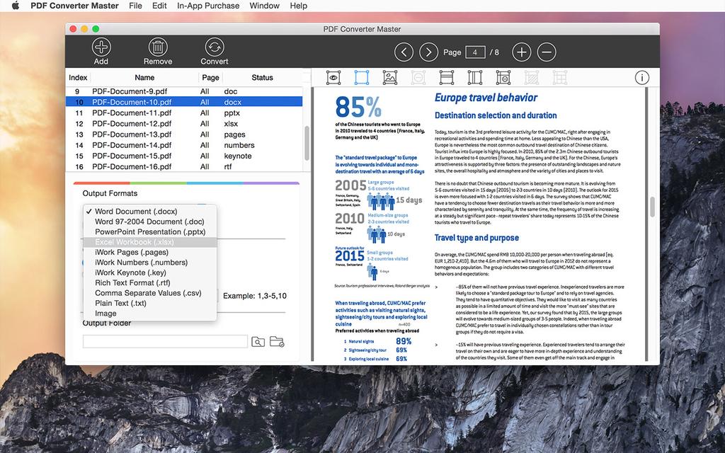Lighten PDF Converter Master for Mac Screenshot 6