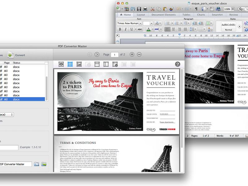 Lighten PDF Converter Master for Mac Screenshot 5