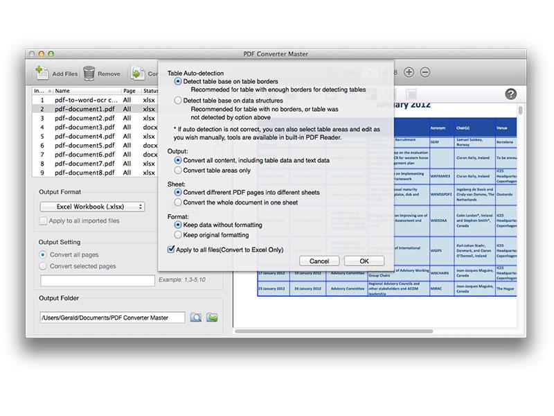 Lighten PDF Converter Master for Mac Screenshot 3