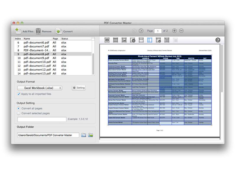 Lighten PDF Converter Master for Mac Screenshot 4