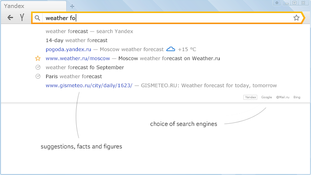 Yandex Browser Screenshot 3