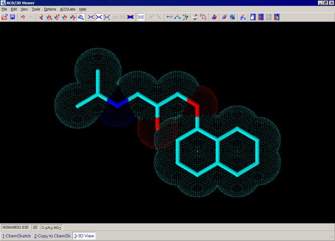 ChemSketch Screenshot