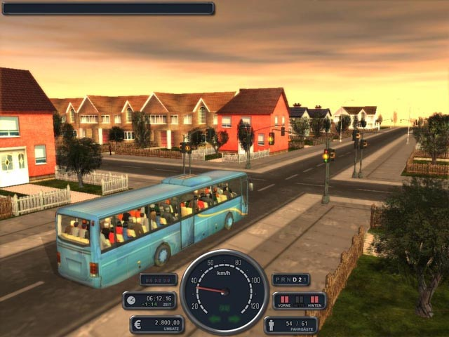 Bus Simulator Deluxe Screenshot