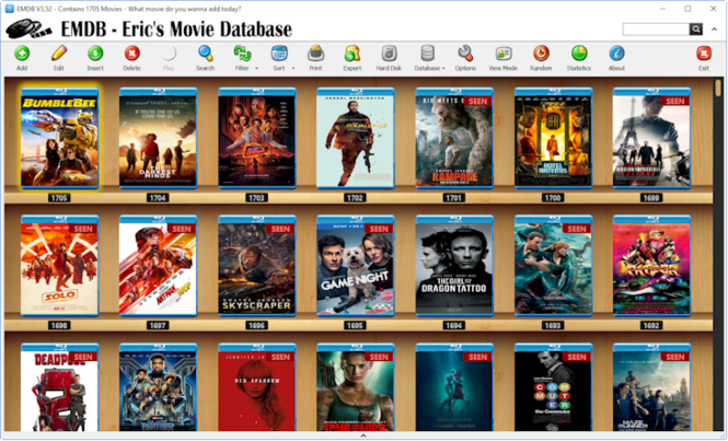 EMDB - Eric's Movie Database Screenshot