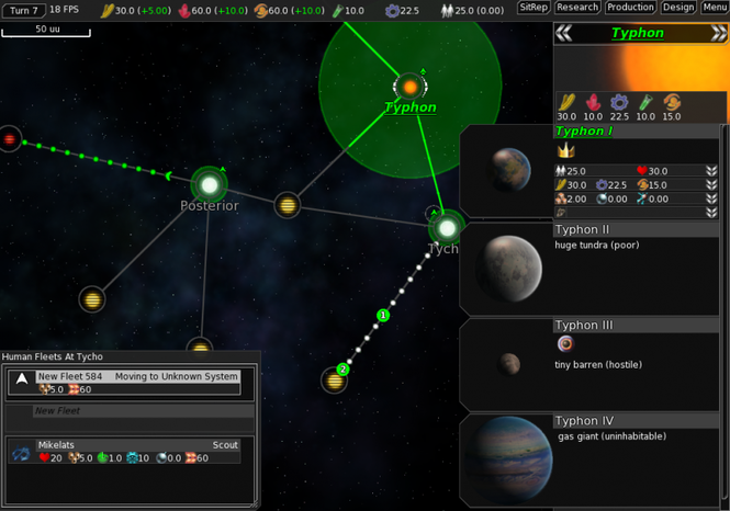 FreeOrion Screenshot 3