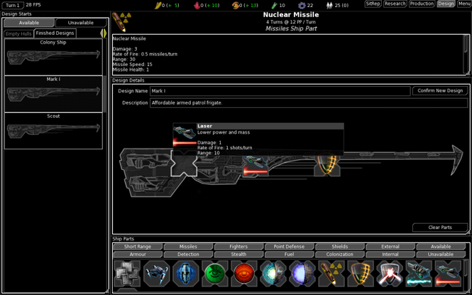 FreeOrion Screenshot 4