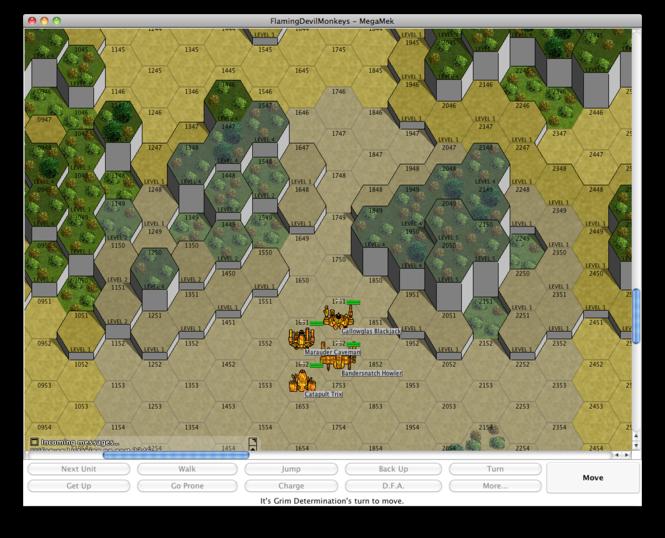 MegaMek Screenshot 3
