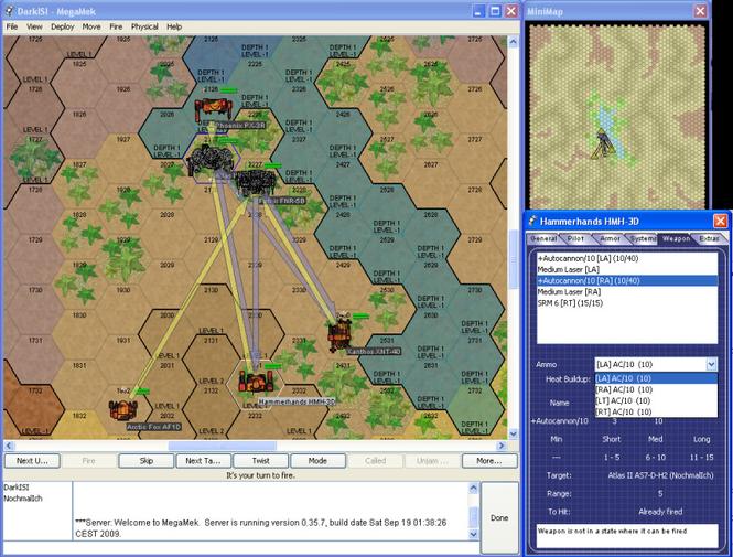 MegaMek Screenshot 2