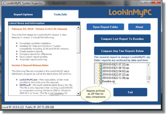 LookInMyPC Screenshot 2
