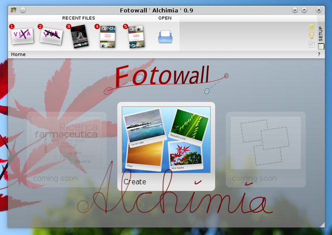 Fotowall Screenshot