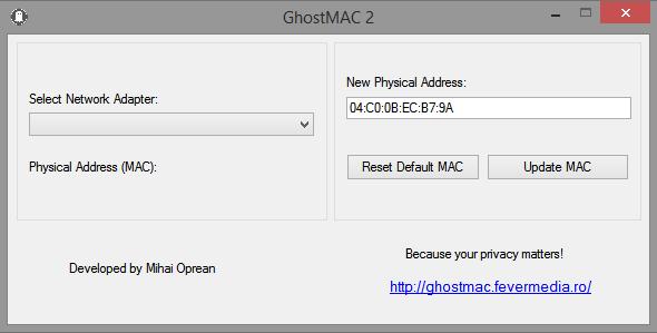 GhostMAC Screenshot 2