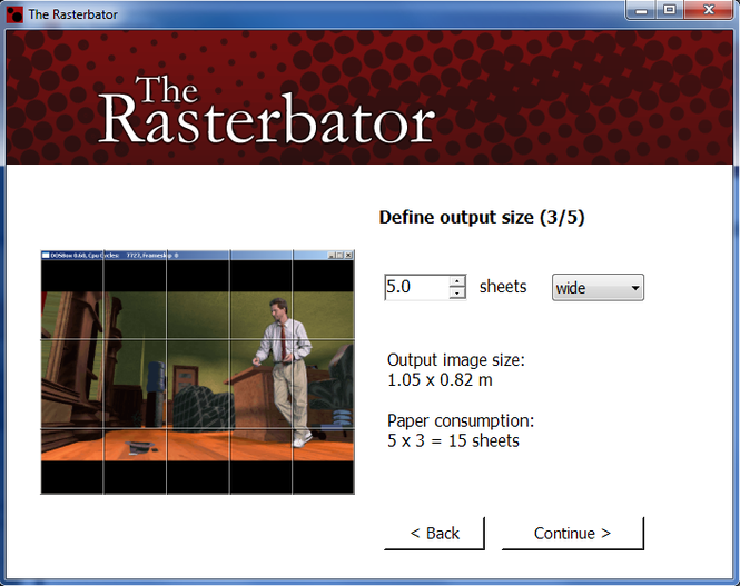The Rasterbator Screenshot
