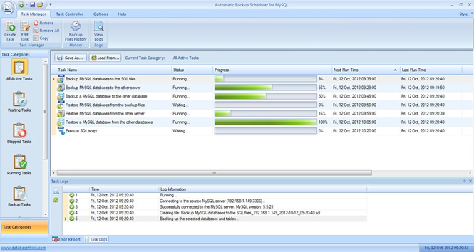 Download auto backup for mysql professional edition 4. 1.