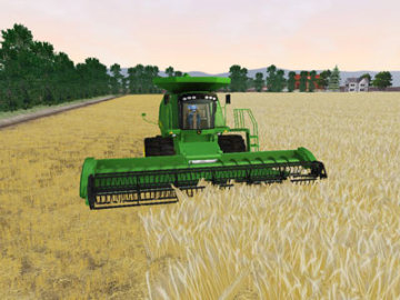 John Deere: Drive Green Screenshot