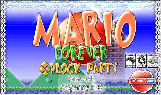 Mario Forever: Block Party Screenshot