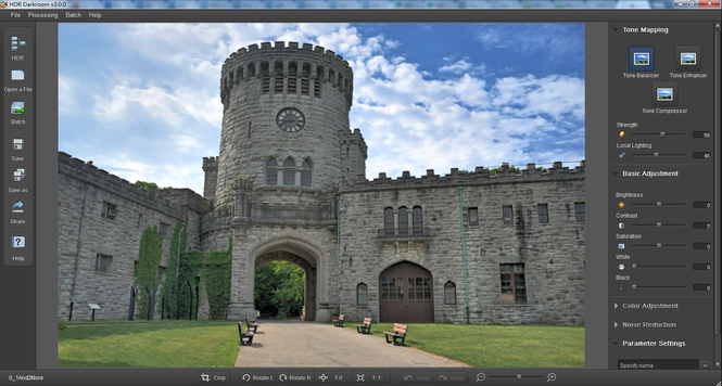 HDR Darkroom v3.0.0 for Mac Screenshot