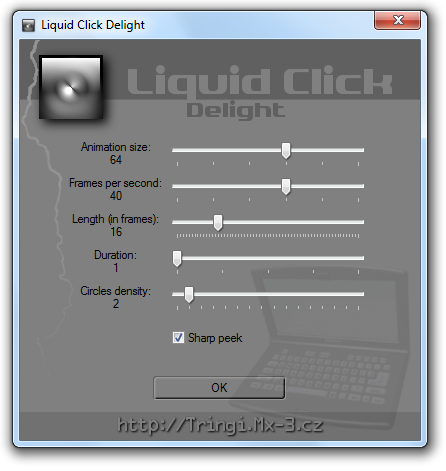 Liquid Click Delight Screenshot 1
