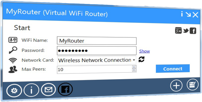 MyRouter Screenshot 1