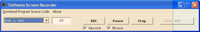 Xes Screen Video Recorder Screenshot 1