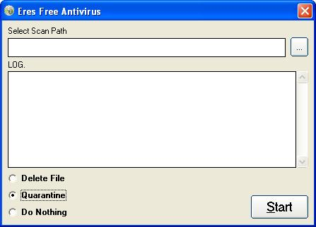 Eres Free Antivirus Screenshot