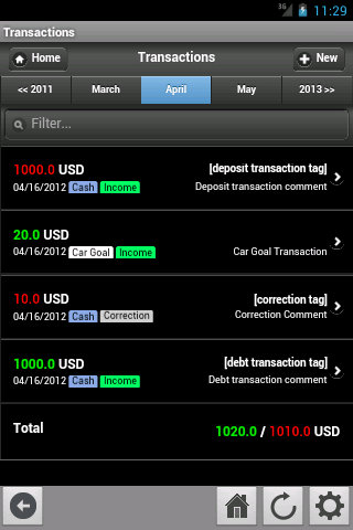 InEx Finance Screenshot 3