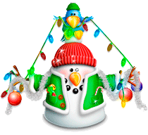 Snowman Garland Screenshot
