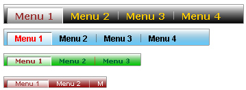 Flash Tab Component Screenshot