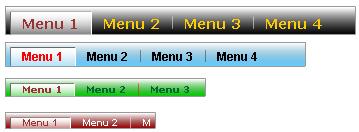Flash Tab Component Screenshot 1