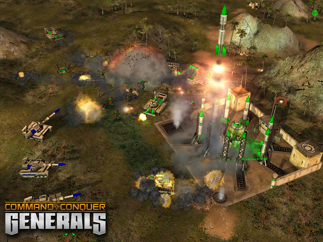 Command & Conquer Generals Screenshot
