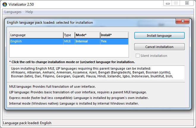 Vistalizator Screenshot 4