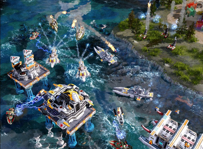 Command & Conquer Red Alert 3 Screenshot