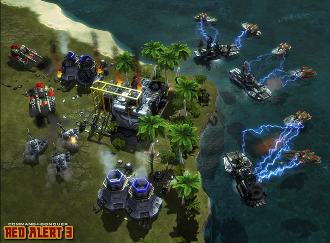 Command & Conquer Red Alert 3 Screenshot 2