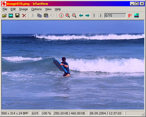 Irfanview Portable Screenshot