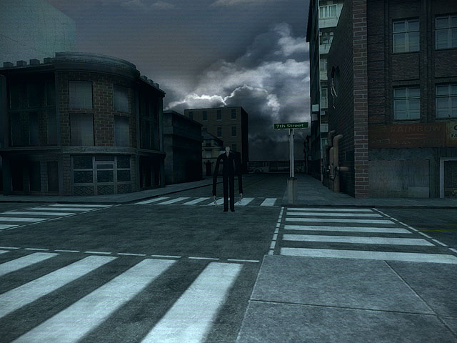 Slenderman's Shadow - 7th Street Screenshot 2