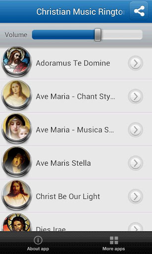 Christian Music Ringtones Screenshot