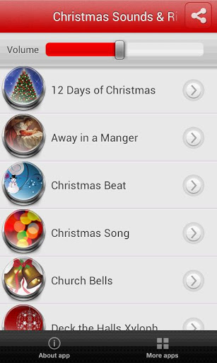 Christmas Sounds & Ringtones Screenshot