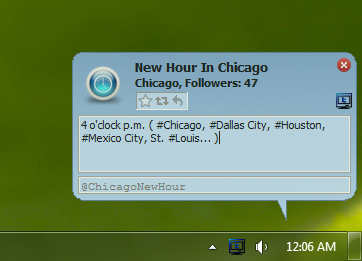 Desktop Twitter Screenshot