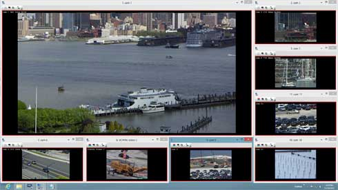 NetCamCenter (64-bit Windows) Screenshot