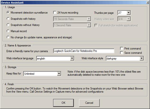 ContaCam Screenshot 3
