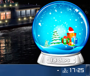Christmas Globe Screenshot