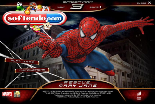 Spider Man 3 Screenshot 1