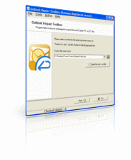 Outlook Repair Toolbox Screenshot