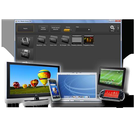 ALLMediaServer Screenshot