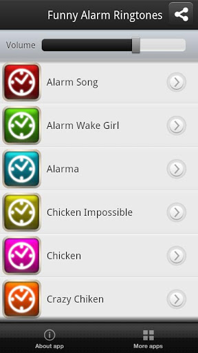 Funny Alarm Ringtones Screenshot