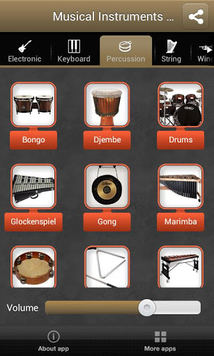Musical Instruments Free Screenshot