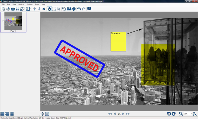 PaperScan Scanner Software Free Edition Screenshot 2