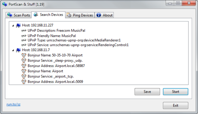 PortScan Screenshot 2
