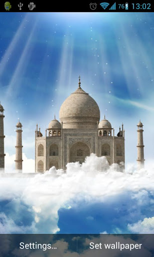 Taj Mahal Live Wallpaper Screenshot 1