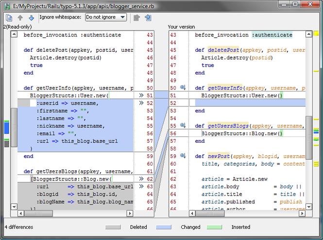 RubyMine Screenshot